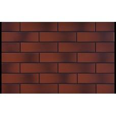 2349 Плитка фасад. Красная гладкая с оттенком (245*65*6,5)