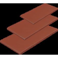 1809 Плитка керамическая Красная (подоконник) (245*135*13)