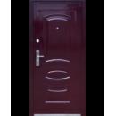 Двері метал. петля внутр 2050*1200*70мм С-31 (автоемаль) лів.