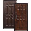 Двери входные металлические 2050*960*70мм С-13 молоток-лак, левые