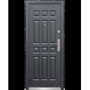 Двери металлические 2050*860*70мм С-13 бархат левая