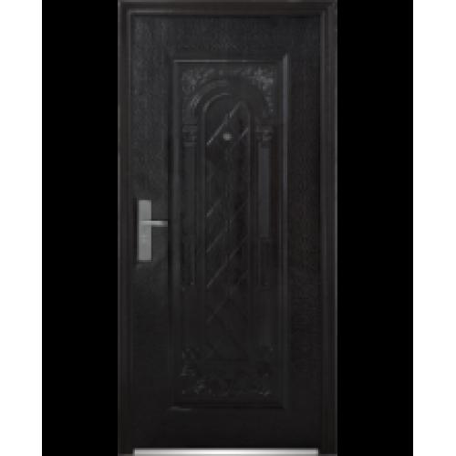 купить входную дверь шпонированную с зеркалом внутри в москве недорого