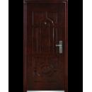 Двері метал. петля внутр 2050*960*50мм С-50 (автоемаль/мідь) прав.