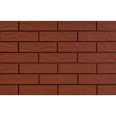 2387 Плитка фасад. Красная рустикальная (245*65*6,5)