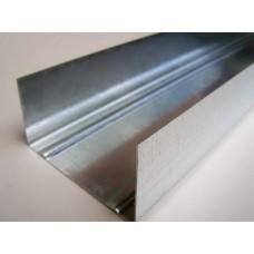 Профиль для гипсокартона UW-75 (3м) 0,42