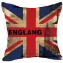 Наволочка винтаж флаг Англии 24