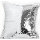 Наволочка люрекс серебро