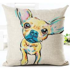Наволочка декоративная собака