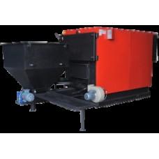 Промышленный стальной твердотопливный котел RODA RK3G/S-320 Prom с автоподачей