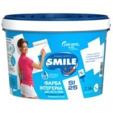 Краска интерьерная «SMILE®» SI25 5л.