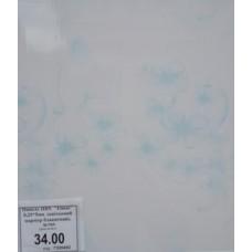 """Панель ПВХ  """"Elmas"""" 0,25*5мм  цветочный голубой мрамор"""